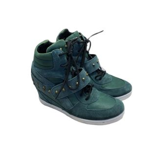 Modern Vice Italian Leather Sneakers Size 7.5